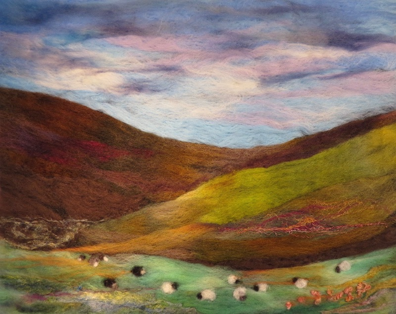 Autumn Grazing in the Glen