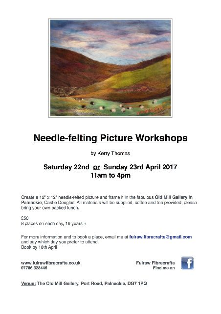 Workshops April 2017